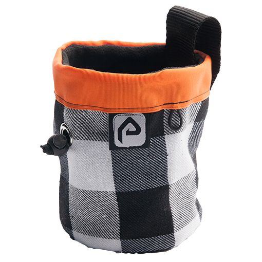 Looking at it now this chalk bag actually reminds us of an old snowboarding jacket from years back, maybe that is where our inspiration came from. #climbing #chalkbags   http://www.pitchclimbing.com/product/chalk-bag-climbing-orange-check/