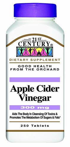 21st Century Apple Cider Vinegar 300mg Tablets, 250 Count (Pack of 2) -- Wow! I love this. Check it out now! : Weight loss Supplements