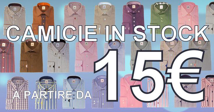 Camicie in stock a partire da 15 € su www.robyandroby.eu