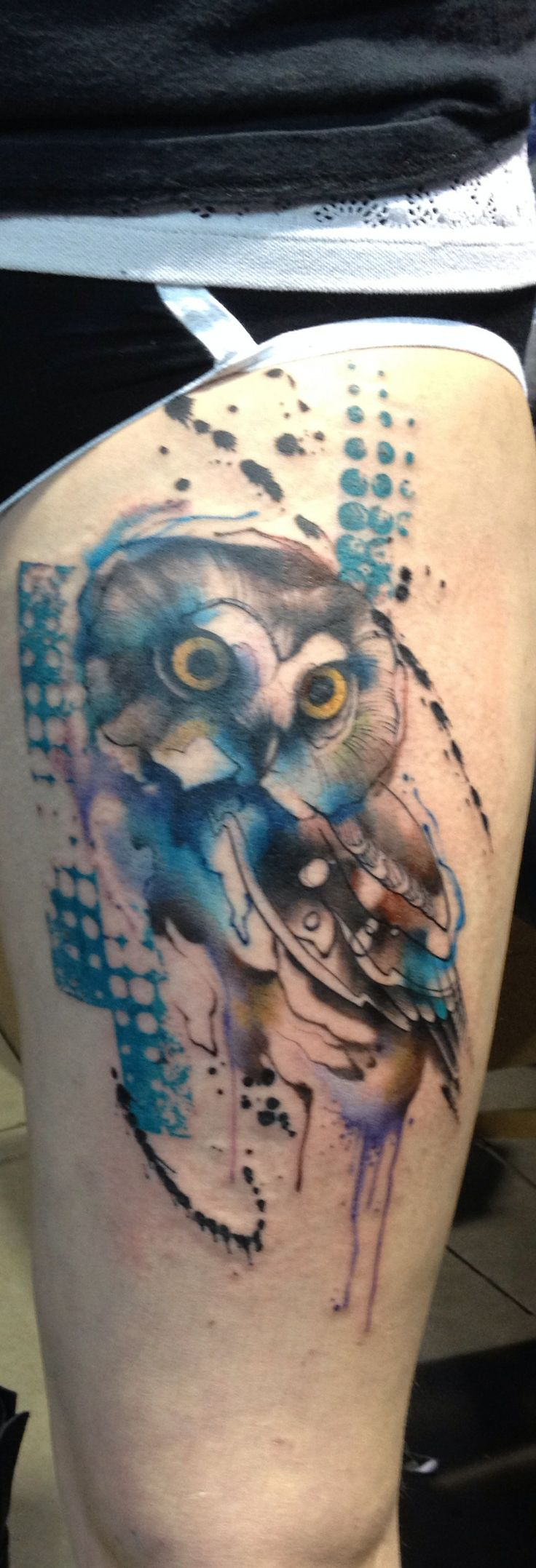 New ink from Philadelphia tattoo convention 2/2/14 by Jay Freestyle from Amsterdam   If you repin please give credit to Jay.