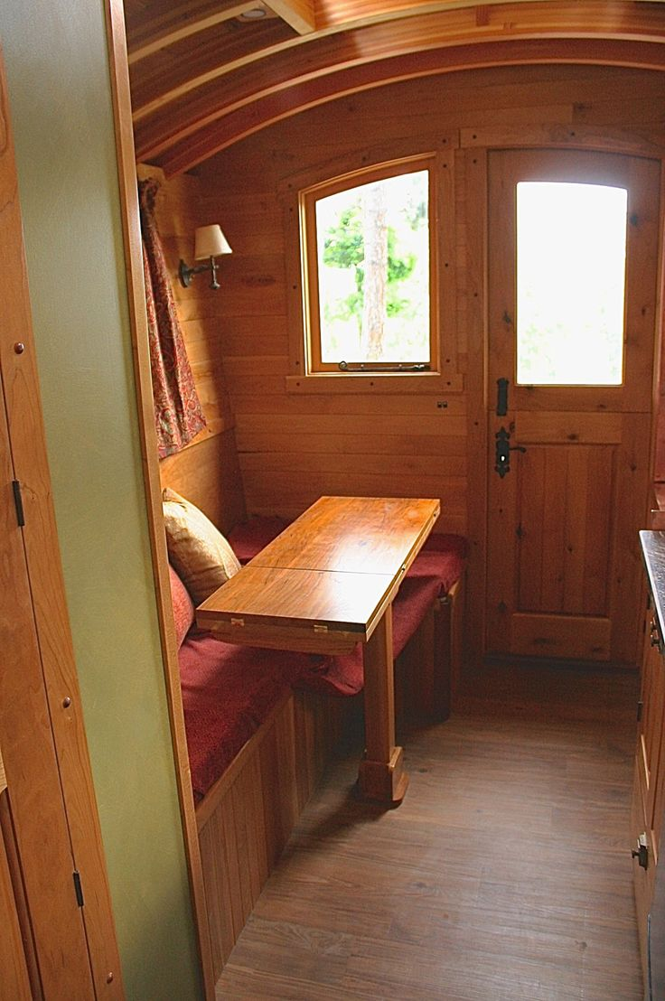 Andrew s gypsy wagon a tiny home in plain washington pinned by haw