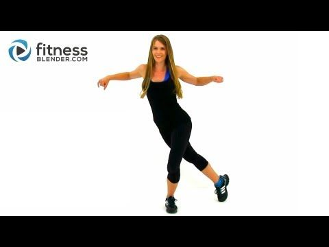Easy on the Knees Kickboxing Blend; Low Impact Cardio, Fitness Blender