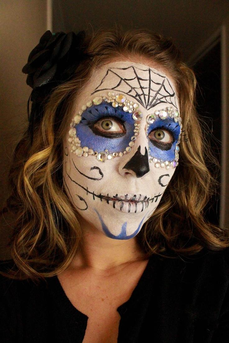 Best 20+ Sugar skull face ideas on Pinterest | Sugar skull face ...