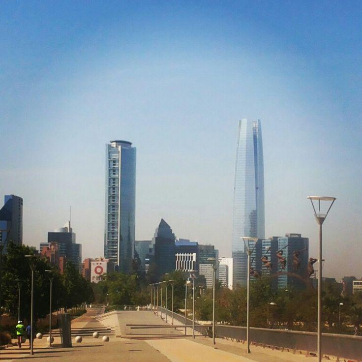 Parque Bicentenario en Vitacura, Metropolitana de Santiago de Chile