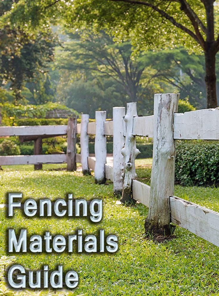 Best 25 Fencing Materials Ideas On Pinterest Backyard