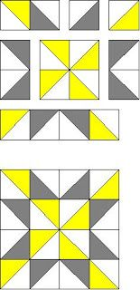 quilt block pattern from for twelve inch by twelve inch square
