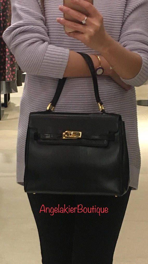 9e5283a34a43 Authentic Bally Vintage Kelly Bag