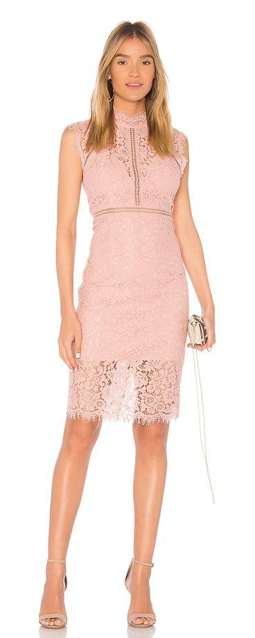 Lace Panel Dress by Bardot. Self: 37% viscose 35% nylon 28% cottonLining: 95% poly 5% elastaneTrim: 100% poly. Hand wash cold. Fully lined. Allover lace fabric. Lattice trim. Scalloped edges with eyelash detail. Exposed back zipper closure. BARD-WD193. 39428DB. Lau... #bardot #dresses