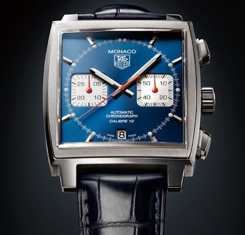 TAG HEUER MONACO CALIBRE 12 WATCH. My favorites #tagheuer #watches #monaco #luxury