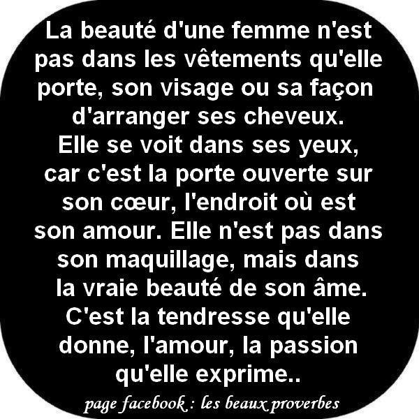 La beauté est intérieure ...