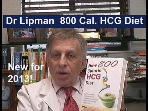 New 800 Calorie HCG Diet from Dr Lipman | cena złota ...