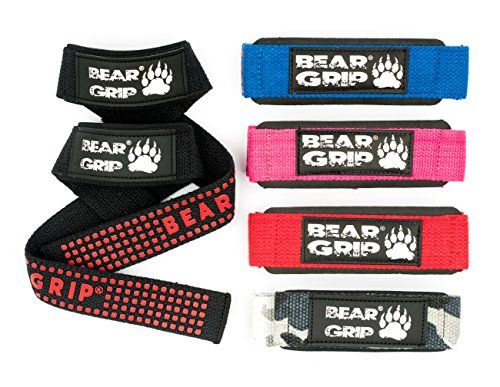 BEAR GRIP® Straps - Premium Neoprene padded Heavy Duty double stitched weight lifting gym straps, Top Quality, 100% cotton, rubber grip Extra long length. (Black) #BEAR #GRIP® #Straps #Premium #Neoprene #padded #Heavy #Duty #double #stitched #weight #lifting #straps, #Quality, #cotton, #rubber #grip #Extra #long #length. #(Black)