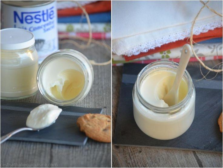 Yaourts maison au lait concentré sucré...très crémeux