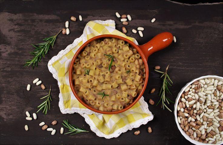 Pasta e fagioli chic - una ricetta facile e gustosa per combattere il freddob