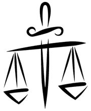 The Balance Glyph for Libra Tattoo