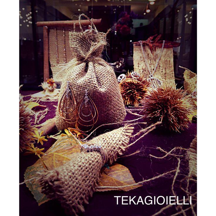 #vetrine #autunno2015 #jewels #gold #diamonds #tekagioielli #original