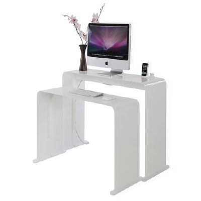 17 best images about small space desk solutions on pinterest modern desk small desks and offices - Stylish desks to enhance your office space ...