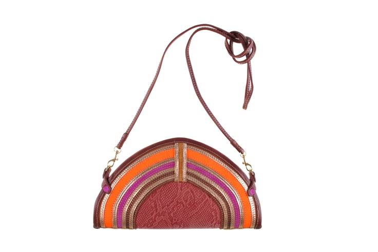 Snakeskin detail bag from Missibaba