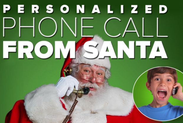 FREE Personalized Phone Call From Santa!