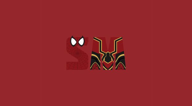 Spiderman Minimalism Avengers Infinity War Minimalist Wallpaper Android Wallpaper Wallpaper