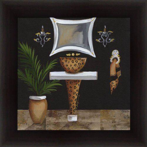 Opulent, Leopard Print/Safari Bathroom Theme Artwork