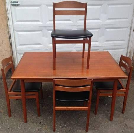 Mid Century Rosewood Ib Kofod-Larsen Dining Set ! - $1150 (Upper East Side)