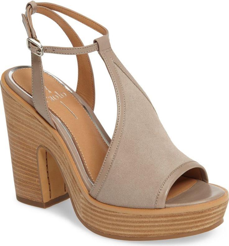 Main Image - Linea Paolo India T-Strap Platform Sandal (Women)