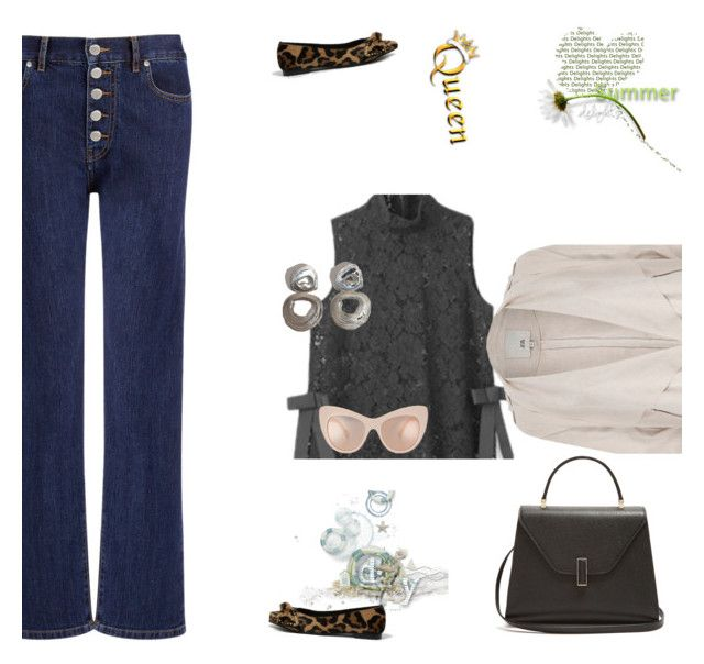 """""""work ready"""" by peeweevaaz ❤ liked on Polyvore featuring Joseph, Valextra, River Island, outfit, summerstyle, officewear, polyvoreeditorial and polyvorefashion"""