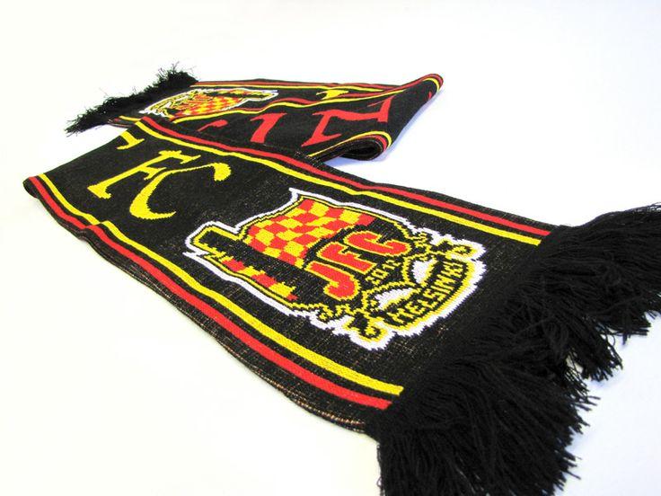 Kaulahuivi Jokerit FC:lle 2013. #Jokeritfc #jokerit
