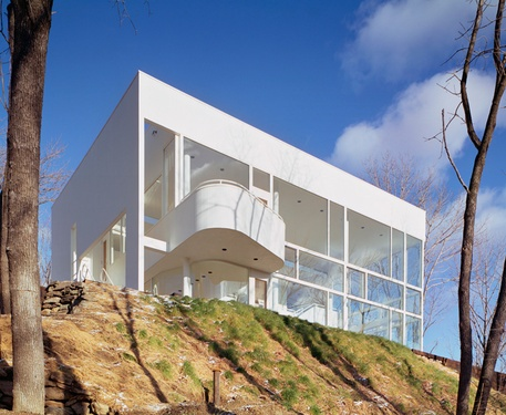 richard meier shamberg house in chappaqua new york 1972 74 - Richard Meier Homes