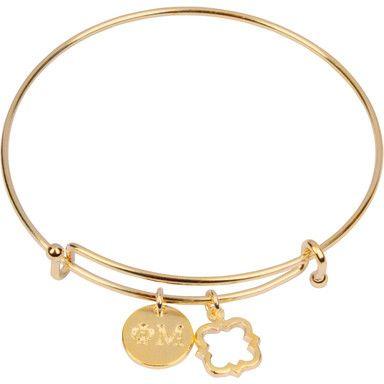 Phi Mu Bracelet, Gold