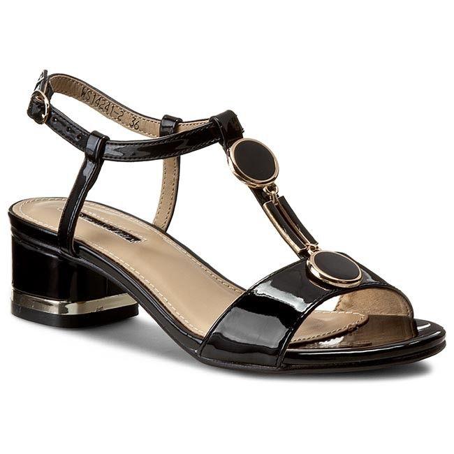 Sandále JENNY FAIRY - WS14241-2 Čierna