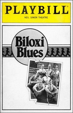 Biloxi Blues Playbill - Opening Night, March 1985