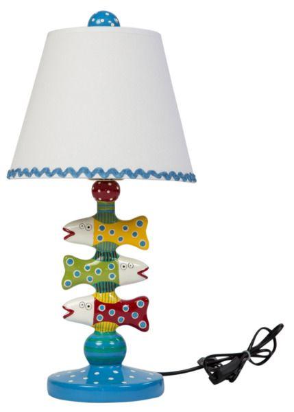 Лампа настольная Northern Game | Эта забавная лампа будет милым подарком даже для совсем юного крохи и, в отличии от игрушки, надолго останется радовать малыша своим озорным видом и теплым светом. Впрочем, Northern Game вполне впишется и во «взрослый» интерьер, если он выполнен в морском или прованском стиле | 7 852 P
