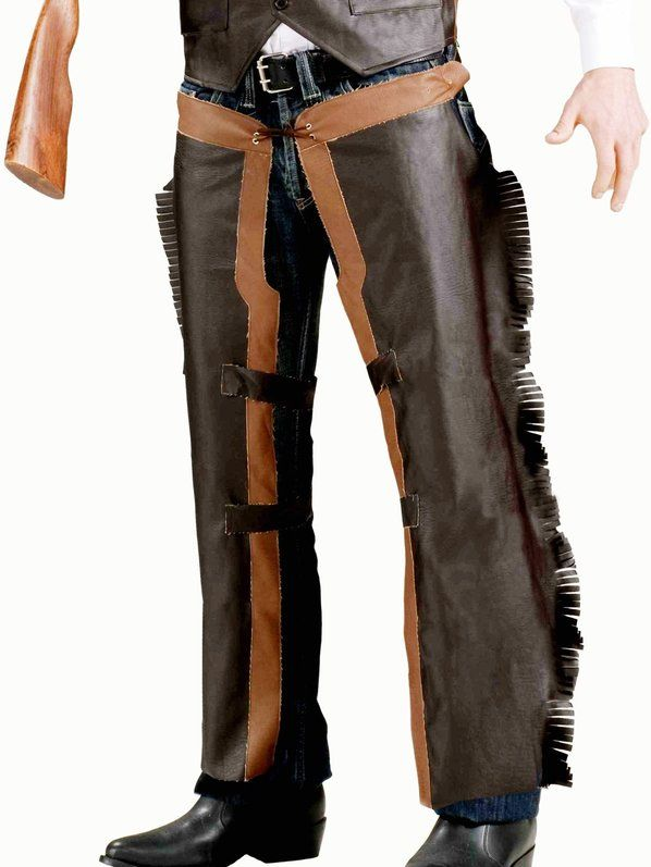 Check out Classic Cowboy Chaps - Adult Cowboy Accessories from Costume Super Center