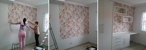 Decoração com tecido na parede – Parte 1
