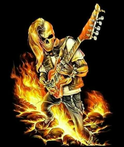 Skull Guitar Wallpaper Hd: Best 25+ Badass Skulls Ideas On Pinterest