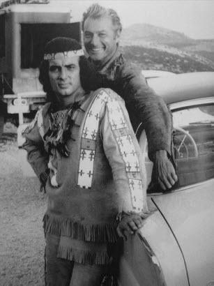 Pierre Brice und Lex Barker