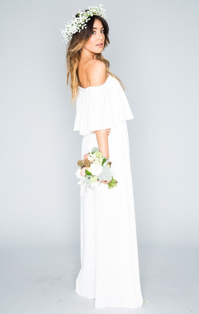18 best WHITE Bridesmaids Dresses images on Pinterest   Tea length ...