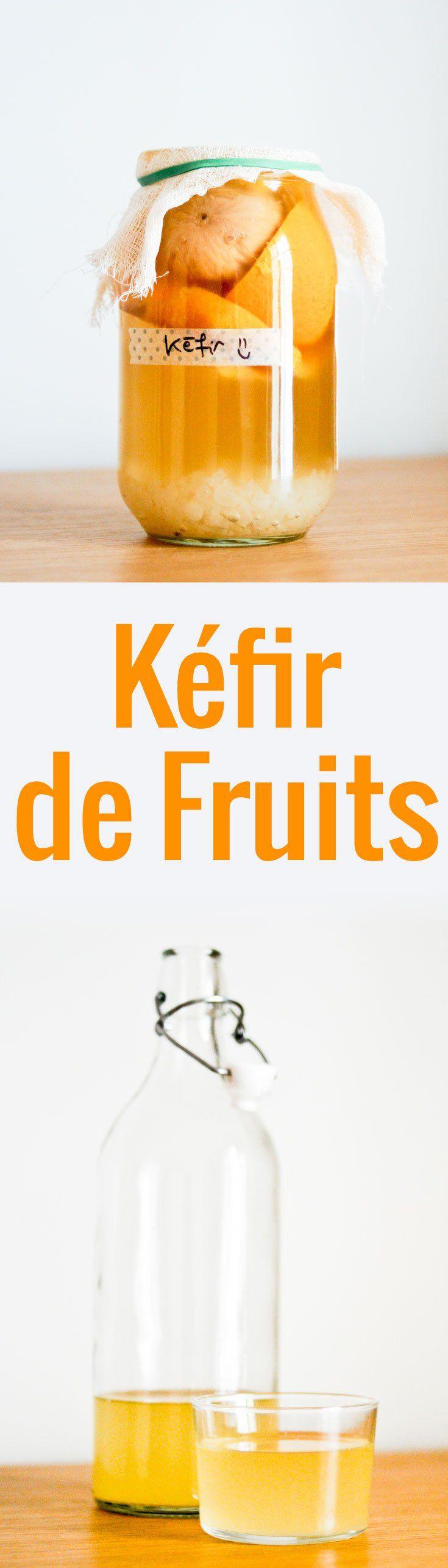 Des explications claires et précises pour faire votre propre kéfir de fruits, une boisson fermentée délicieuse et saine à base de fruits.