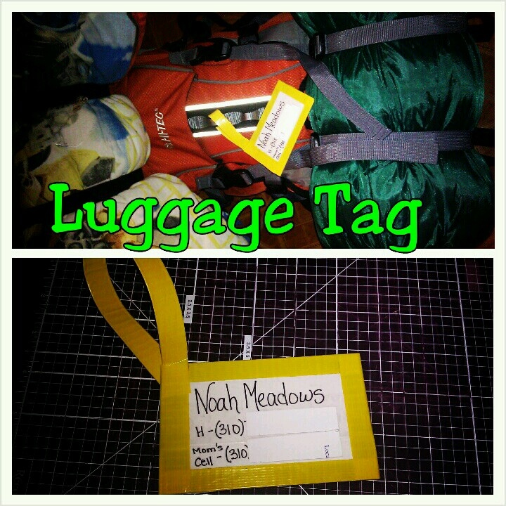 Most durable luggage tag. Customizable too