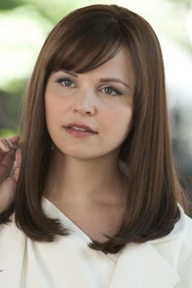 The 25 best round face celebrities ideas on pinterest mila ginnifer goodwin round face hair cut urmus Images
