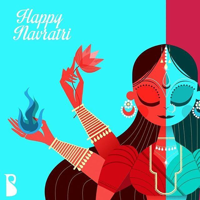 Celebrating the colours of Navratri!