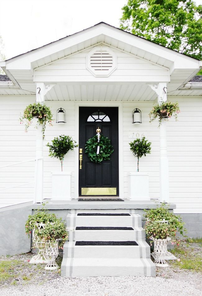 A Little Before and After With Extra Curb Appeal