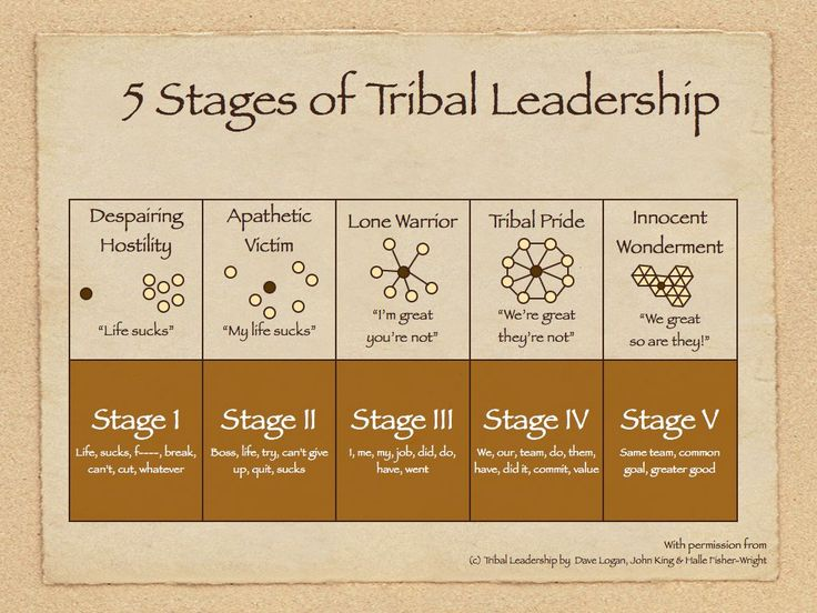 20th August 2015: What Are You Willing to Do For a Buck? (Tribal Leadership)