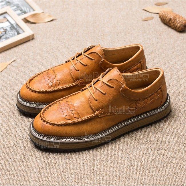Yüksek Kaliteli Malzemelerden Üretim Moda Erkek Ayakkabı Modelleri - 571582 - 17