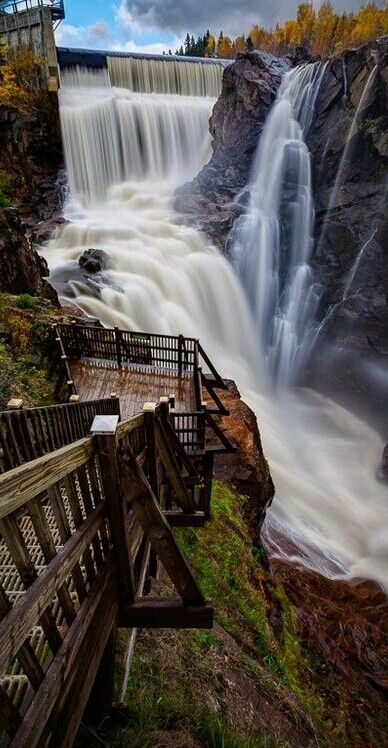 The incredible Montmorency Falls, Quebec