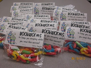 book worms gummies. Cute to give to my students in leading in reading club.