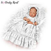 Baby Doll: All Gods Grace In One Little Face Signature Edition Christening Baby Doll