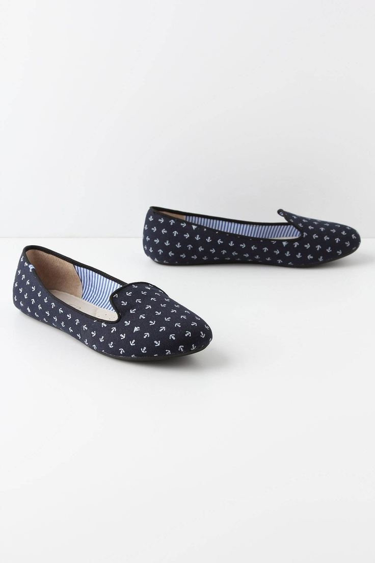 too cute for words: Anthropologie Anchors, Sailboats Loafers, Anchors Shoes, Anchors Flats, So Cute, Summer Shoes, Sets Sailing, Sailing Loafers, Anchors Loafers